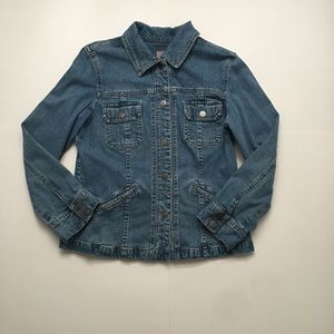 J.Jill denim jacket Size M petit